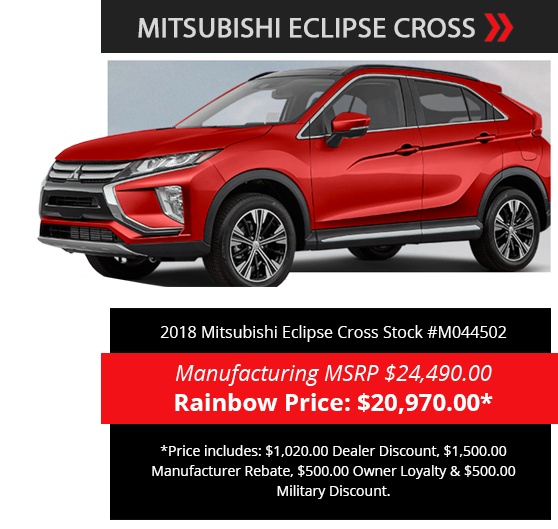 Rainbow Mitsubishi North | New Mitsubishi & Used Car Dealer in ...